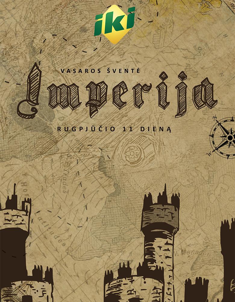 """Renginio """"Imperija"""" plakato sukūrimas"""