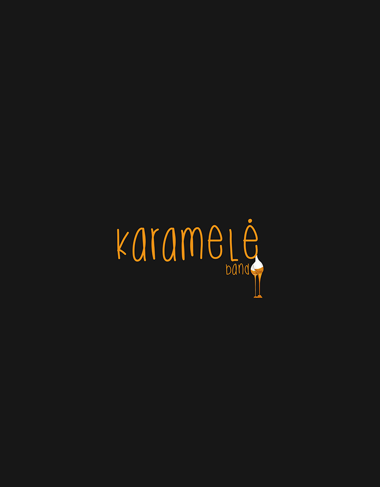 Karamelė music band logotipas