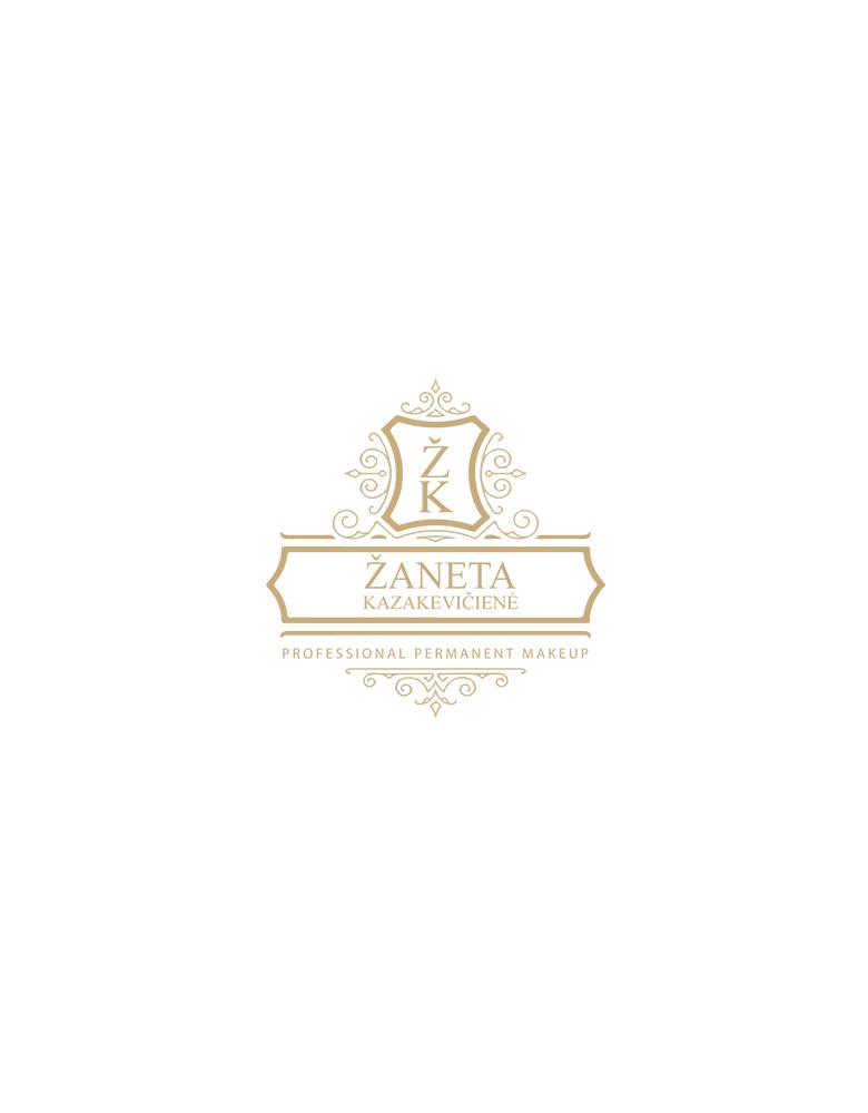 Žaneta Kazakevičienė makiažo meistrė logotipo sukūrimas