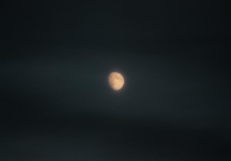 Vienišas mėnulis