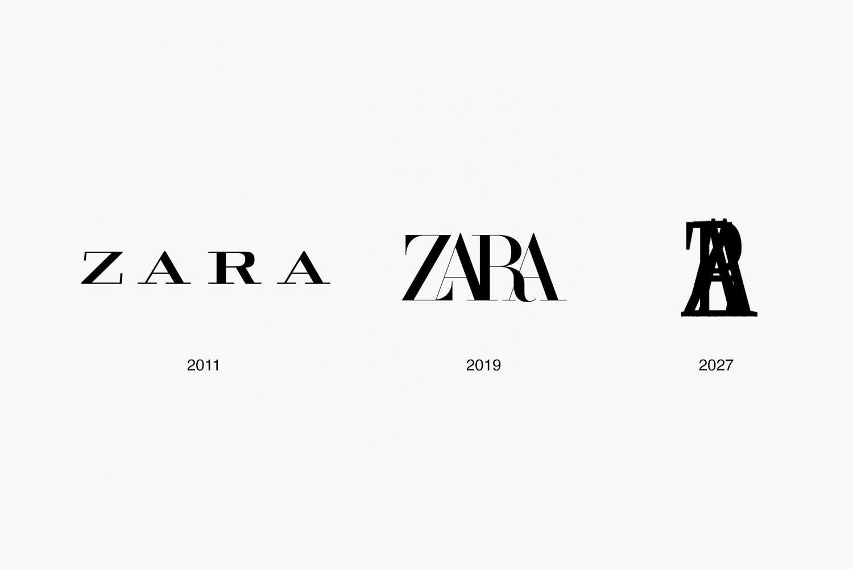 logotipas, zara,